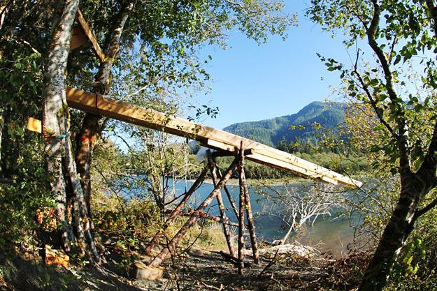 Nitinat Slide, BritishColumbia.com