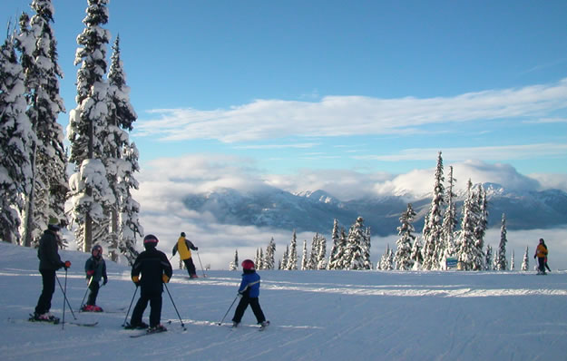 Ski Whistler, BritishColumbia.com photo by globalreset via Flickr