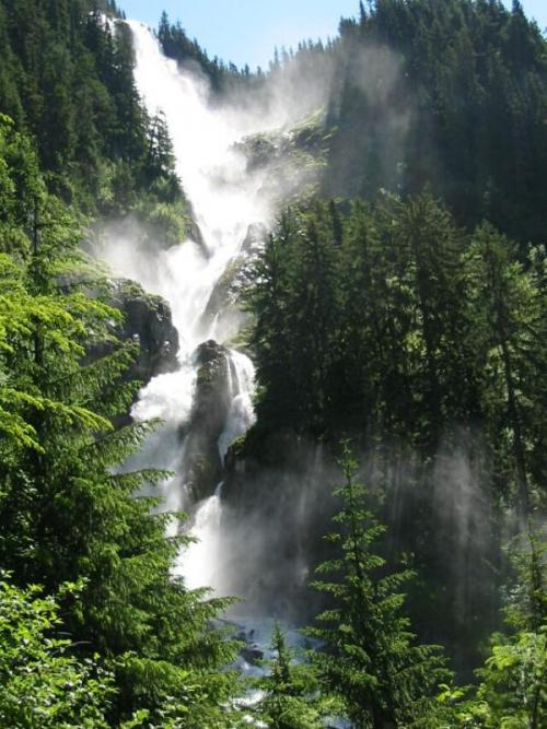 Vancouver Observer, Odegaard Falls Hike, Bella Coola, British Columbia