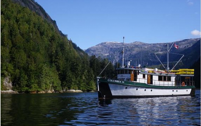 Mothership Adventures operates the heritage vessel Columbia III, offering exhilarating adventure tours in British Columbia, Canada.