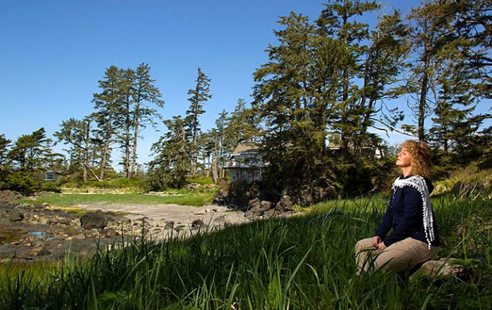 OceanWest is a luxury vacation home oceanfront development in Ucluelet, on the West Coast of Vancouver Island, British Columbia