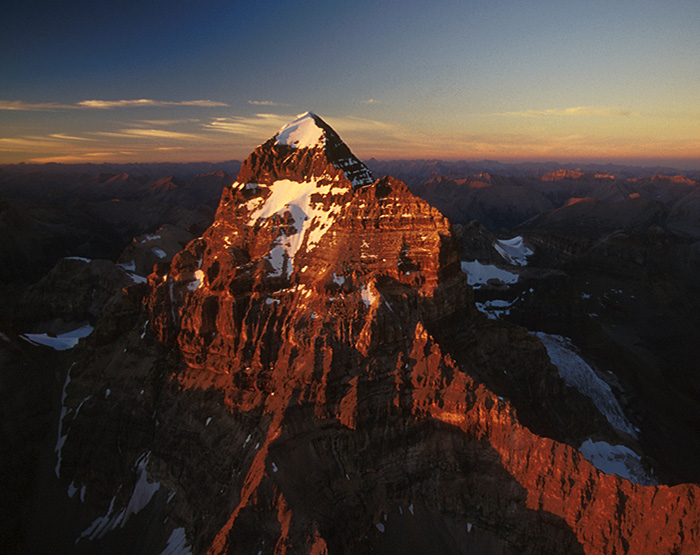 Mount Assiniboine, BC Rocky Mountains