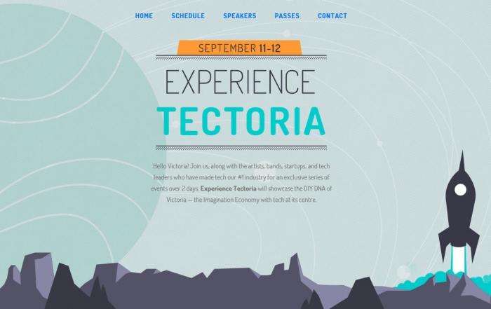 Tectoria event, Victoria, British Columbia