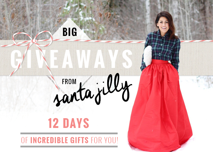 Jillian Harris, 12 Days of Incredible Gifts For You