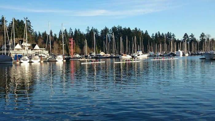 Vancouver Stanley Park Seawall, Laurie McLean, British Columbia
