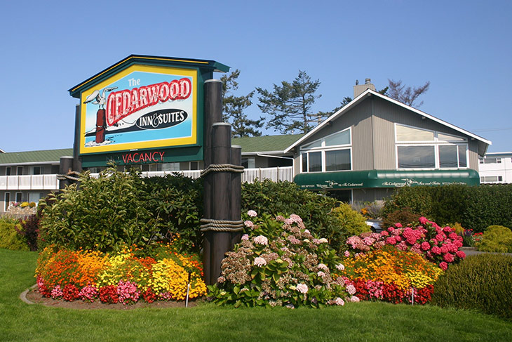 The Cedarwood Inn & Suites, Sidney, Greater Victoria, Vancouver Island, British Columbia