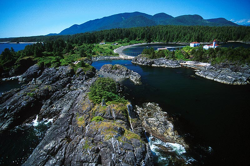 Yuquot (Friendly Cove), located in Nootka Sound on the west coast of Vancouver Island, British Columbia.