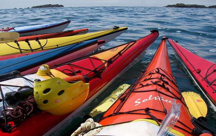 spirit-of-the-west-british-columbia-kayak-colourful-bows-together