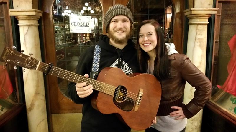 Paeton Cameron and Kaylee Rose of the band Roses & Smoke. Soulful, Contemporary Folk Music, British Columbia, Canada