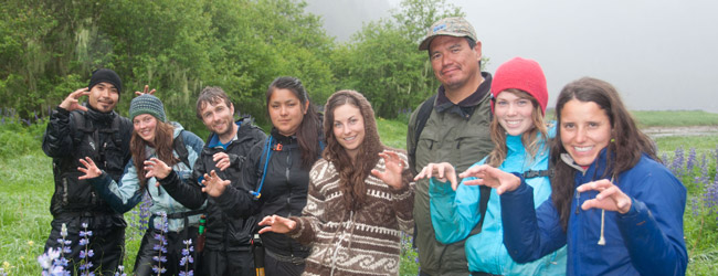 Raincoast Conservation Bella Bella and Klemtu-based bear research teams, Spring 2014.