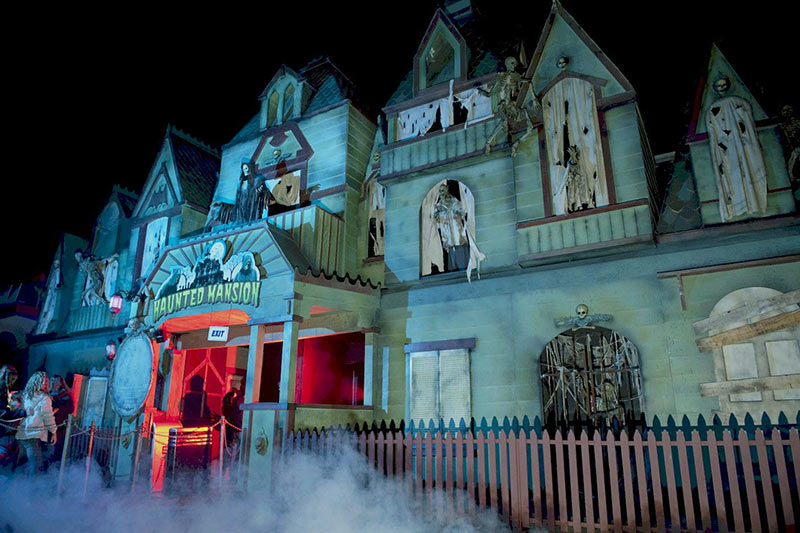 Haunted Mansion and Halloween events and Fright Nights at the PNE Playland in Vancouver, British Columbia