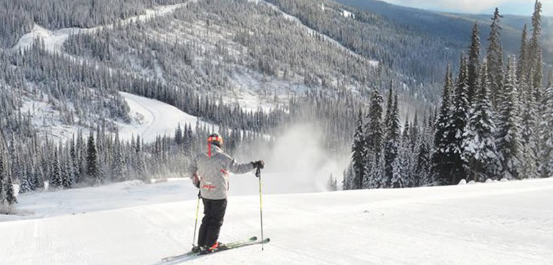 ski season opens at sun peaks resort british columbia. Black Bedroom Furniture Sets. Home Design Ideas