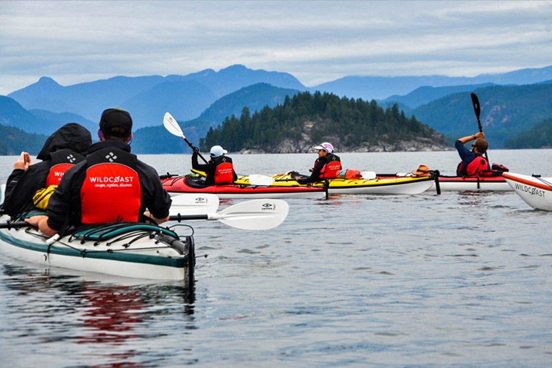Kayaking & Camping in Canada's West Coast Wilderness, with Wildcoast Adventures, British Columbia