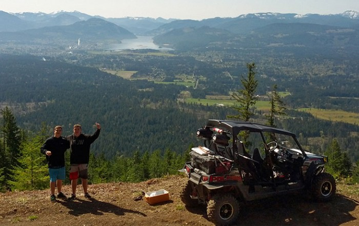 West Coast Edge ATV Adventures, Port Alberni, Vancouver Island, British Columbia, Canada
