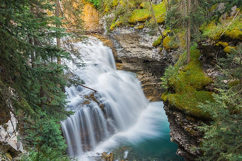 Johnston Canyon, Bow Valley Parkway, Banff National Park, Alberta, Canada