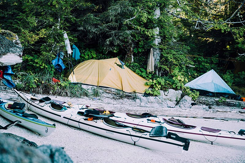 Great Bear Rainforest Outer Islands Expedition by Spirit of the West Kayaking, British Coplumbia, Canada