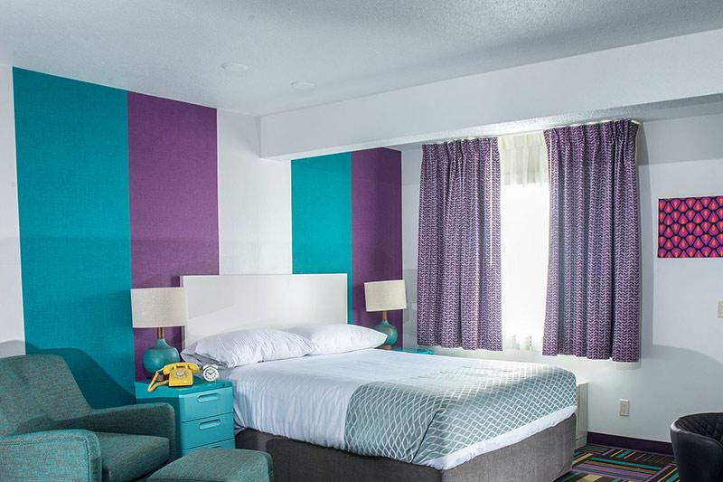 Hotel Zed, Kelowna, Okanagan, British Columbia