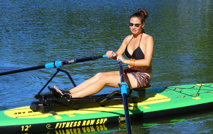 Oar Board Rower, inflatable SUP, Adventure Row 12, Whitehall Rowing and Sail