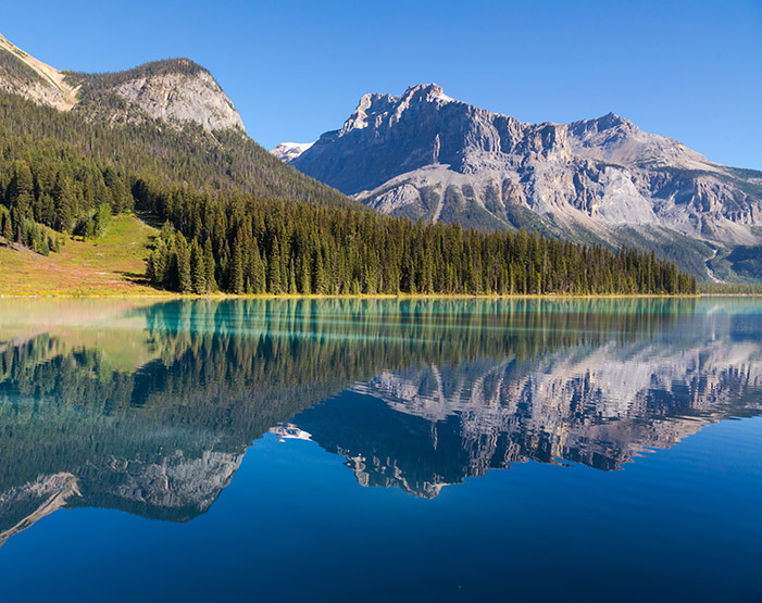 Emerald Lake, Yoho National Park, BC Rockies, British Columbia, Canada