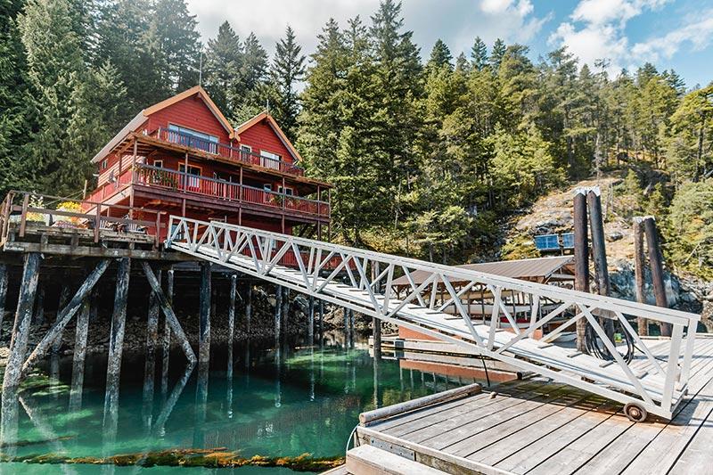 Discovery Islands Lodge, Quadra Island, Discovery Island, British Columbia
